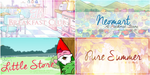 Pure Summer Mall's Banner Package by sugarnote