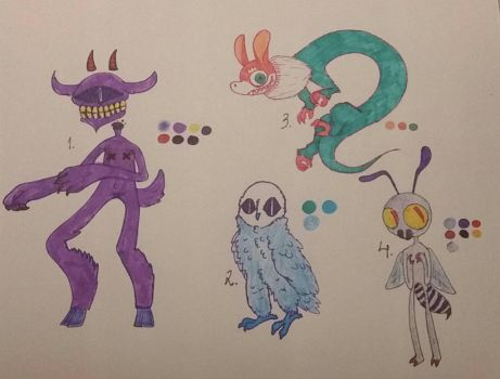 Adoptables 8# by Sushirolsss