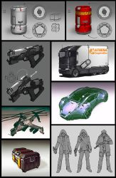 Athena concepts by Talros