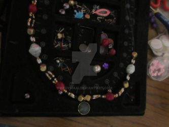 Necklace I'm creating at home by LadyMaai
