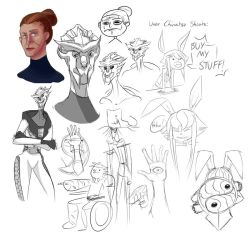Sketch Dump March 2014 by RaChoTamer