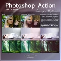 Dreamy and Nightmare Photoshop Action by mondecolore