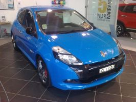 Showroom Renault Clio RS 200 Cup by TricoloreOne77