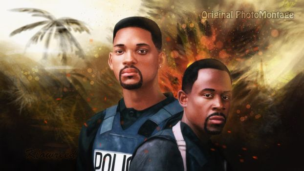 Bad Boys Digital art in Photoshop by Klowreed