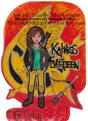 Katniss Everdeen, The girl who was on FIRE! by Fantasy-and-Fiction