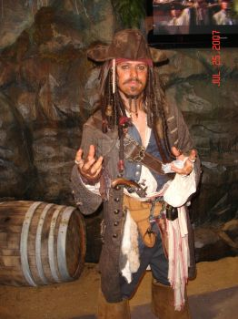 Jack Sparrow in San Diego by MercenaryX