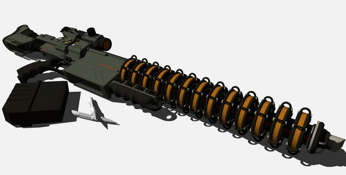 E-Mag Rifle laid out by lukenxn1234