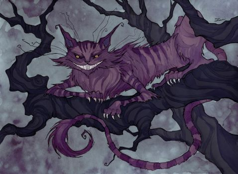 Cheshire Cat by IrenHorrors