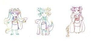 Dragon Adoptables (CLOSED) by trucd