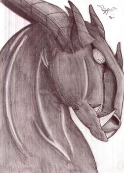 DRagon horse by zakii