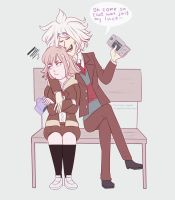 That's just Komaeda's luck by Miss-Ponytails