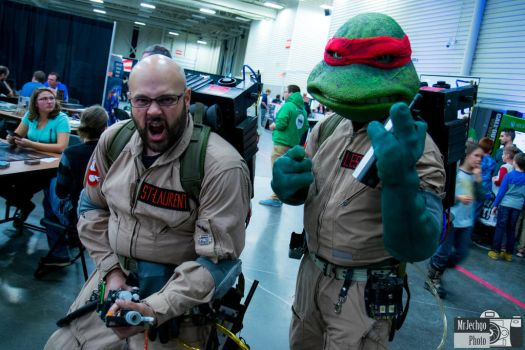 TMNT / Ghostbusters Crossover Live Action. by dan20lancer