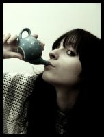 with teapot by ladymonroe