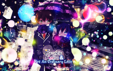 Wallpaper Not Ordinary Love by Yumijii