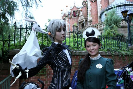 Jack and the cast of Haunted Mansion by Maho-Urei