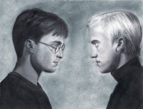 Harry vs. Draco by Eileen9