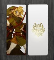 Demon Road Chapter 1 Link Foil Bookmark by DemonRoad