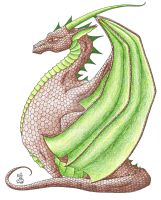 More Fat Dragons 5 by Scellanis