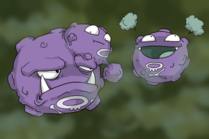 The Koffing Family