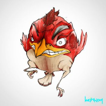 Angry Birds - RED by Minhky