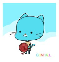 Gumball Watterson by colajet