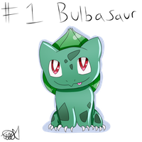 Pokemon #1: Bulbasaur by zencat61