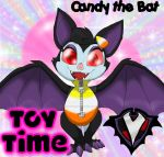 Toy Time - Candy the Bat by PlayboyVampire