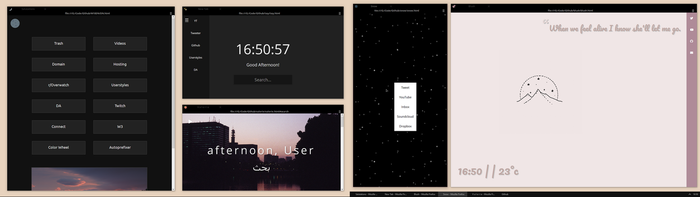 Startpages by chloechantelle