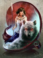 Princess Mononoke by Raivis-Draka
