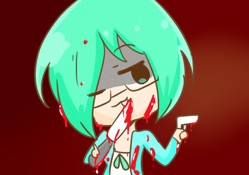 Your Blood Is My Sauce~(request) by ChilledPastel