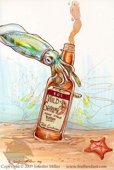Whiskey Squid by Nambroth