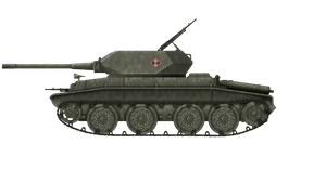 [FAKE] Self-Propelled AT Gun - 14tp D by Escodrion