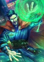 Doctor Strange by HitomiTQX