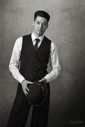 vintage male shooting no.2 by snottling1