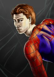 Andrew Garfield as the Amazing Spider-Man by CharmingTone