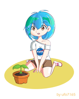 Earth-Chan by ufo7165