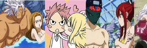 Fairy Tail's 7 most possible couples. by EllieBimbo