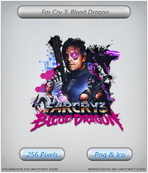 Far Cry 3: Blood Dragon - Icon by Crussong
