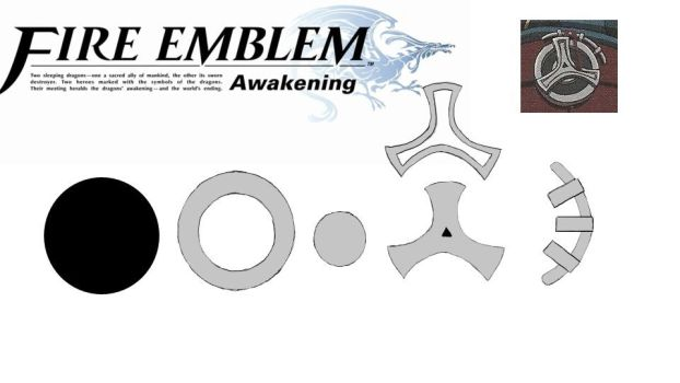 Fire Emblem: Awakening- Myrmidon Brooch/Pin by Noiz-Bleu