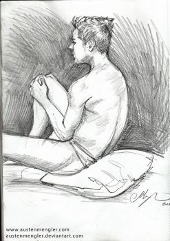 Life Drawing Session #3 - 05 by AustenMengler