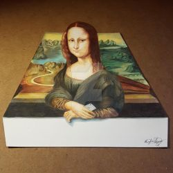 Mona Lisa 3D by OMKDrawings