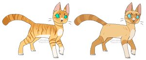 HYPOKITS    Pheasantleopard and Viperfrost by rainwolfeh