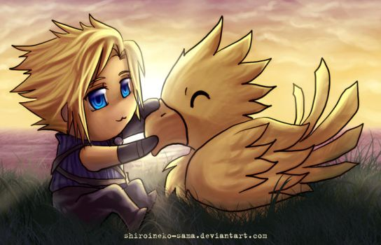 FF7AC: Feathered Friend by ShiroiNeko-sama