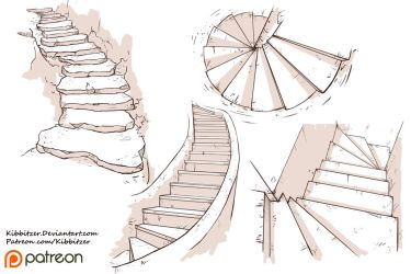 Stairs Reference Sheet by Kibbitzer
