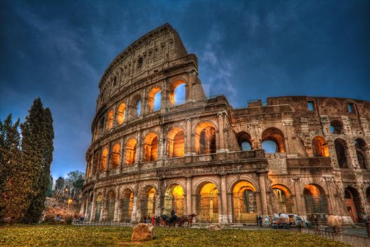 rome colosseum by wai-cheong