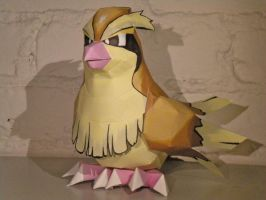 Pidgey by jewzeepapercraft