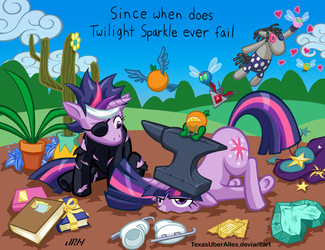Since When Does Twilight Sparkle Ever Fail by TexasUberAlles