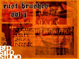 Rust Brushes - Volume 1 by redsilo
