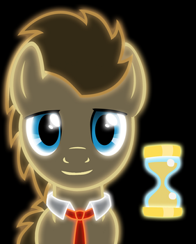 Neon Doctor Whooves by ZantyARZ