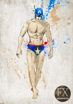 Captain America by BledRedin